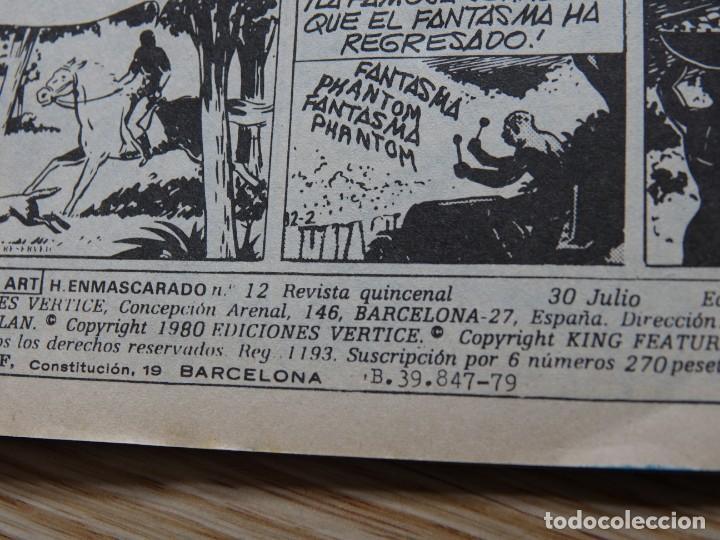 Cómics: EL HOMBRE ENMASCARADO VOL. 2 Nº 12 comics art LA CARRETERA DEL DIABLO The Phantom VERTICE - Foto 3 - 158929578