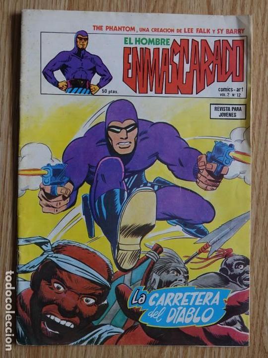 EL HOMBRE ENMASCARADO VOL. 2 Nº 12 COMICS ART LA CARRETERA DEL DIABLO THE PHANTOM VERTICE (Tebeos y Comics - Vértice - Hombre Enmascarado)