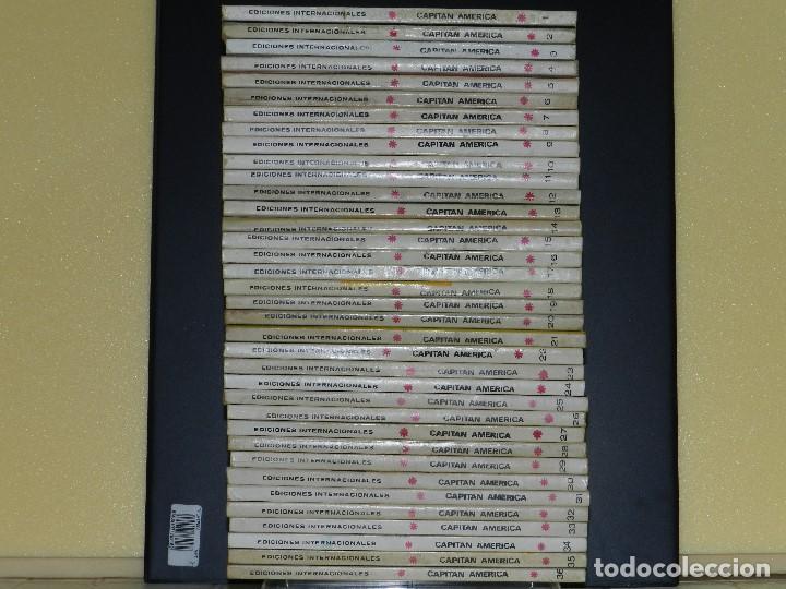 CAPITAN AMERICA, EDICIONES VERTICE, VOLUMEN 1, COLECCIÓN COMPLETA. (Tebeos y Comics - Vértice - V.1)