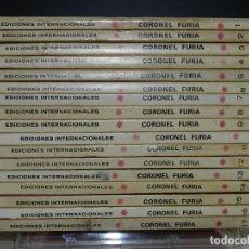 Cómics: CORONEL FURIA, EDICIONES VERTICE, VOLUMEN 1, COLECCIÓN COMPLETA.. Lote 158986926