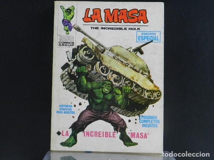 Cómics: LA MASA, EDICIONES VERTICE, VOLUMEN 1, COLECCIÓN COMPLETA. - Foto 2 - 158989094