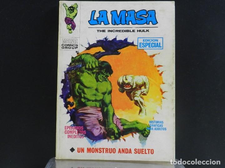 Cómics: LA MASA, EDICIONES VERTICE, VOLUMEN 1, COLECCIÓN COMPLETA. - Foto 4 - 158989094