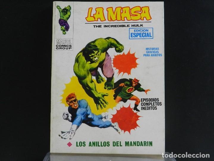 Cómics: LA MASA, EDICIONES VERTICE, VOLUMEN 1, COLECCIÓN COMPLETA. - Foto 6 - 158989094
