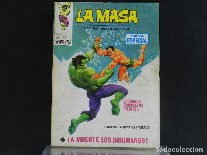 Cómics: LA MASA, EDICIONES VERTICE, VOLUMEN 1, COLECCIÓN COMPLETA. - Foto 16 - 158989094