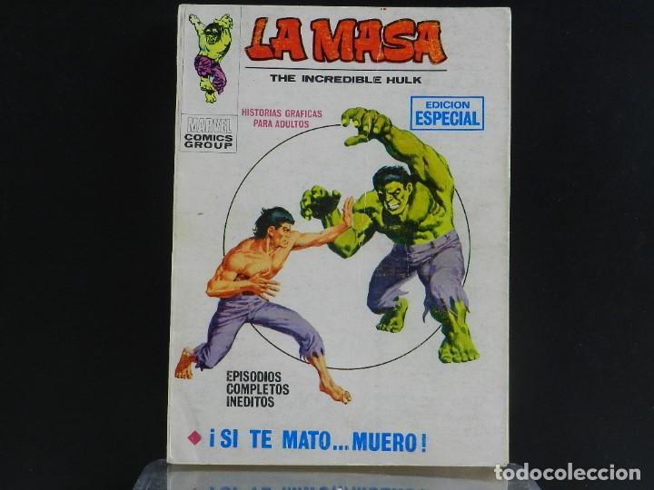 Cómics: LA MASA, EDICIONES VERTICE, VOLUMEN 1, COLECCIÓN COMPLETA. - Foto 26 - 158989094