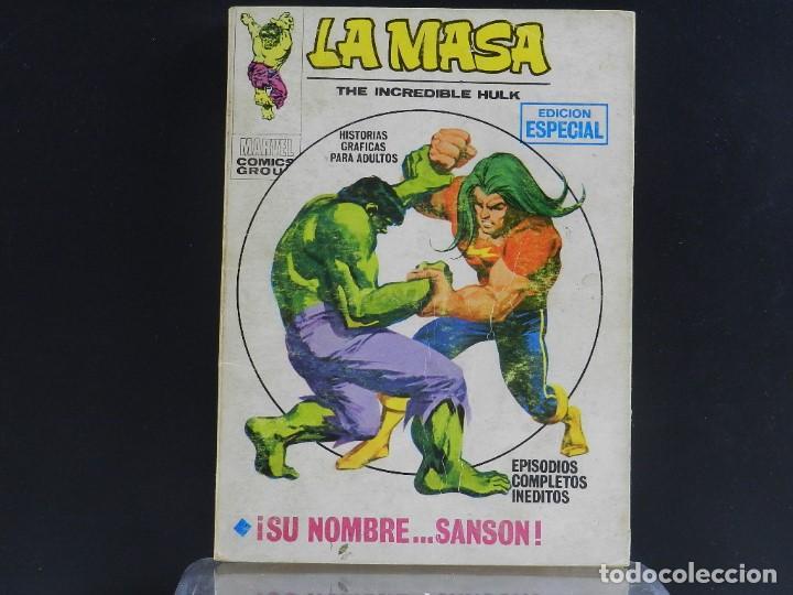 Cómics: LA MASA, EDICIONES VERTICE, VOLUMEN 1, COLECCIÓN COMPLETA. - Foto 38 - 158989094