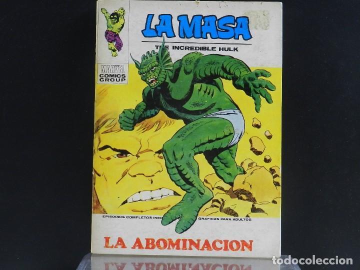 Cómics: LA MASA, EDICIONES VERTICE, VOLUMEN 1, COLECCIÓN COMPLETA. - Foto 56 - 158989094