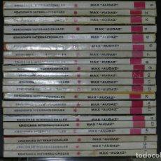 Cómics: MAX AUDAZ, EDICIONES VERTICE, COLECCIÓN COMPLETA.. Lote 158990986