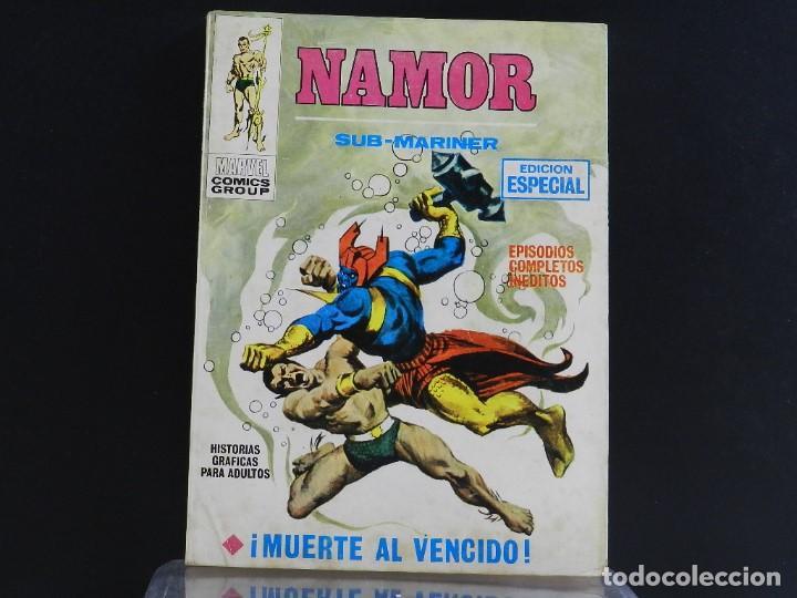 Cómics: NAMOR, EDICIONES VERTICE, VOLUMEN 1, COLECCIÓN COMPLETA. - Foto 4 - 158991670