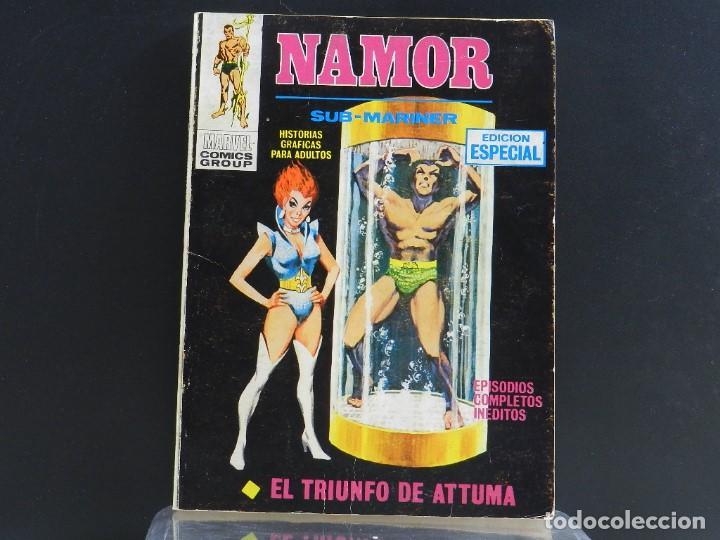 Cómics: NAMOR, EDICIONES VERTICE, VOLUMEN 1, COLECCIÓN COMPLETA. - Foto 28 - 158991670