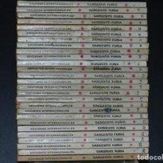 Cómics: SARGENTO FURIA, EDICIONES VERTICE, VOLUMEN 1, COLECCIÓN COMPLETA.. Lote 158993026