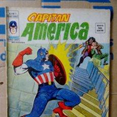 Cómics: CAPITÁN AMÉRICA VOLUMEN 3 VÉRTICE NÚMERO 11. 1976. 35 PTAS. EL HOMBRE BESTIA.. Lote 159352174