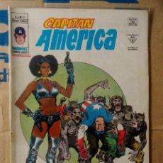 Cómics: CAPITÁN AMÉRICA VOLUMEN 3 VÉRTICE NÚMERO 32. 1979. 40 PTAS. ¡LA REINA DE LOS HOMBRES-LOBO!. Lote 159355346