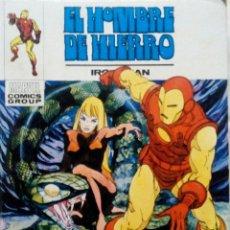 Cómics: EL HOMBRE DE HIERRO IRON MAN Nº 26 JUEGO DE MUERTE VERTICE 1973 MARVEL COMIC. Lote 159462214