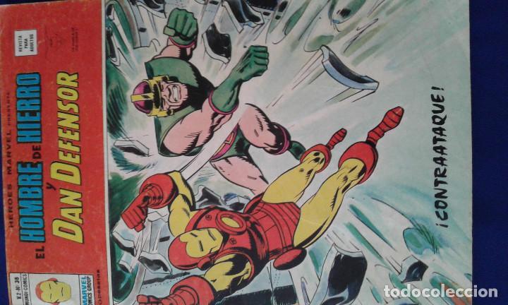 EL HOMBRE DE HIERRO 1974- MARVEL (Tebeos y Comics - Vértice - Hombre de Hierro)