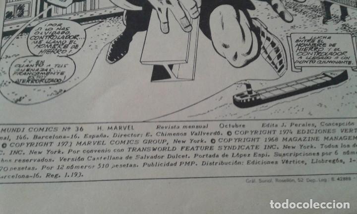 Cómics: EL HOMBRE DE HIERRO 1974- MARVEL - Foto 5 - 159536306