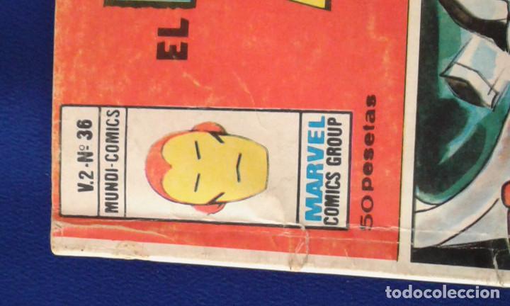 Cómics: EL HOMBRE DE HIERRO 1974- MARVEL - Foto 6 - 159536306