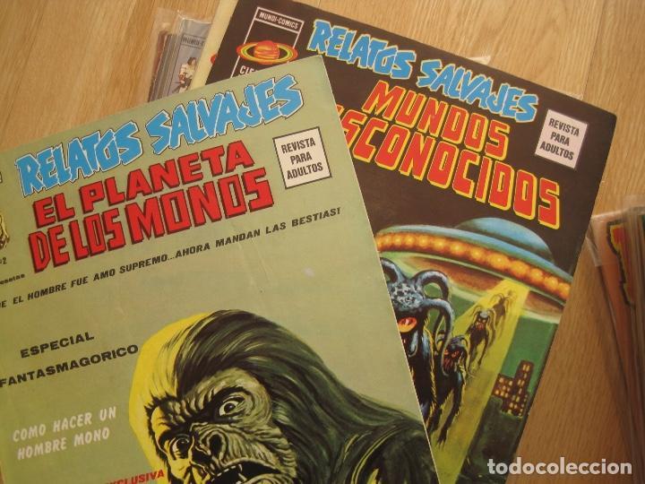 RELATOS SALVAJES--73 NUMEROS DE 84--CASI COMPLETA--EXCELENTE ESTADO--VERTICE (Tebeos y Comics - Vértice - Relatos Salvajes)