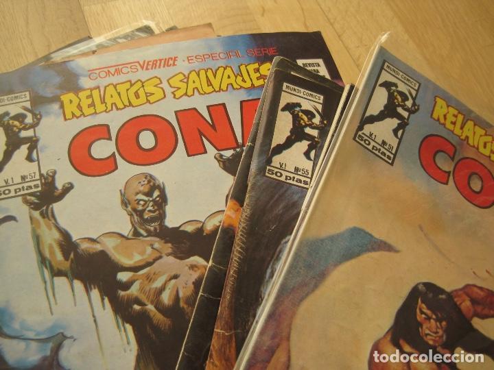 Cómics: RELATOS SALVAJES--73 NUMEROS DE 84--CASI COMPLETA--EXCELENTE ESTADO--VERTICE - Foto 9 - 159607398