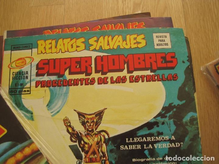 Cómics: RELATOS SALVAJES--73 NUMEROS DE 84--CASI COMPLETA--EXCELENTE ESTADO--VERTICE - Foto 10 - 159607398