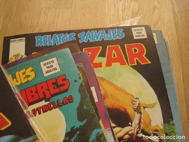 Cómics: RELATOS SALVAJES--73 NUMEROS DE 84--CASI COMPLETA--EXCELENTE ESTADO--VERTICE - Foto 11 - 159607398