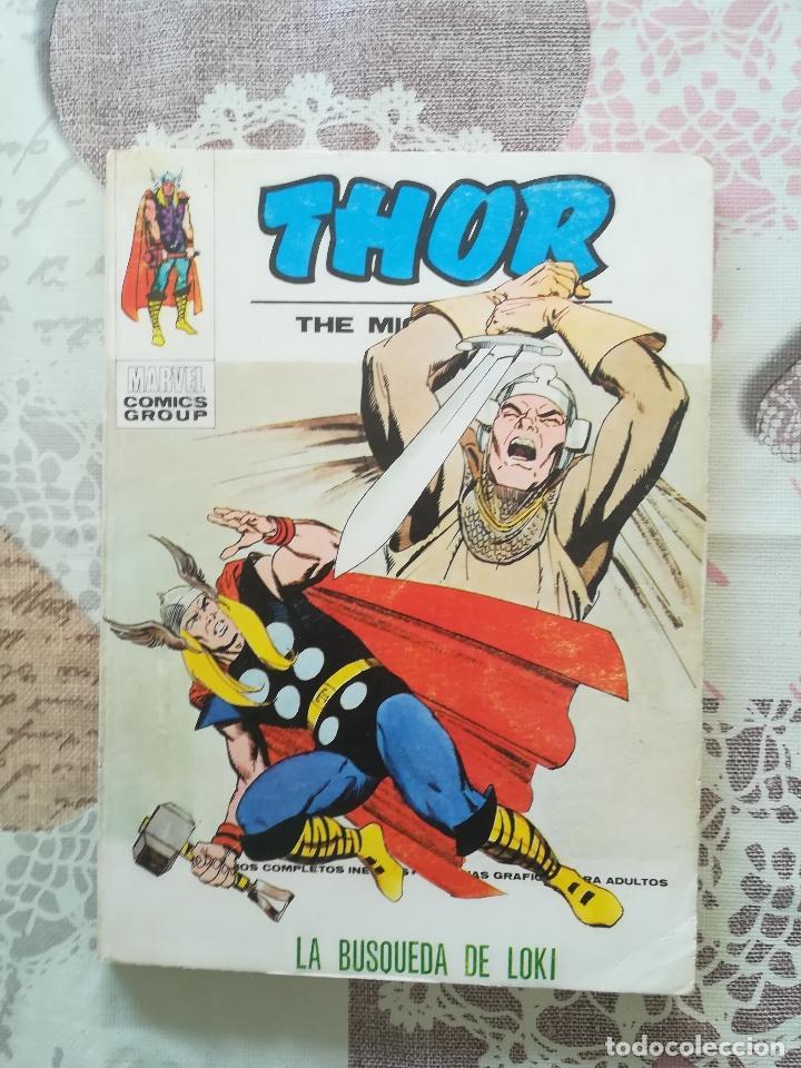 THOR V 1 Nº 35 (Tebeos y Comics - Vértice - Thor)