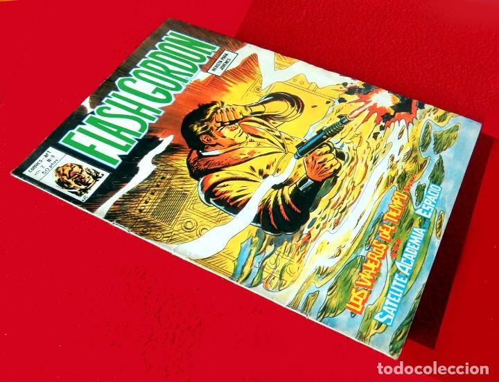 Cómics: FLASH GORDON, VOL. 2 - Nº 8, LOS VIAJEROS DEL TIEMPO 2-COMICS-ART / EDIT. VÉRTICE, 1979. ORIGINAL - Foto 2 - 159695614