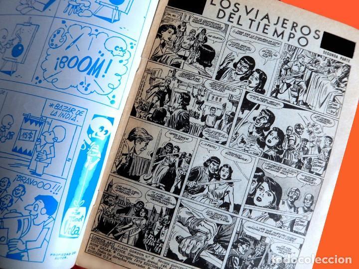 Cómics: FLASH GORDON, VOL. 2 - Nº 8, LOS VIAJEROS DEL TIEMPO 2-COMICS-ART / EDIT. VÉRTICE, 1979. ORIGINAL - Foto 3 - 159695614