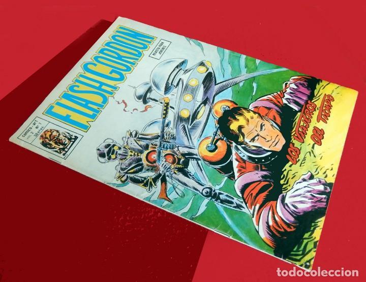 Cómics: FLASH GORDON, VOL. 2 - Nº 7, LOS VIAJEROS DEL TIEMPO-COMICS-ART / EDICIONES VÉRTICE, 1979. ORIGINAL - Foto 2 - 159695930