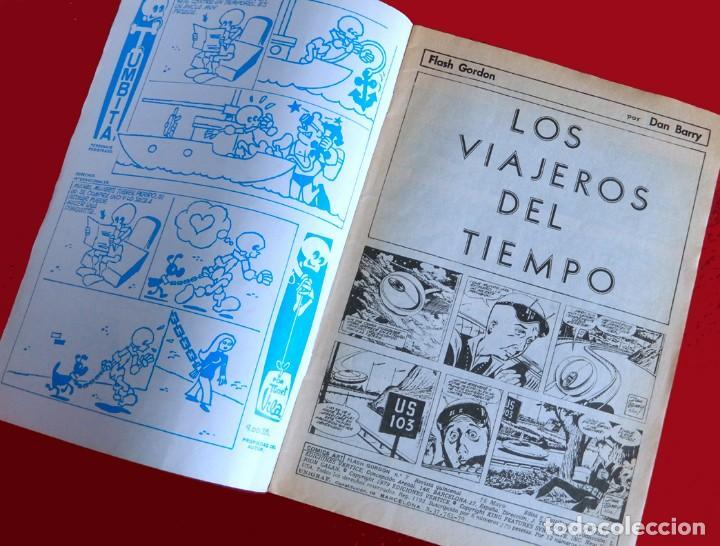 Cómics: FLASH GORDON, VOL. 2 - Nº 7, LOS VIAJEROS DEL TIEMPO-COMICS-ART / EDICIONES VÉRTICE, 1979. ORIGINAL - Foto 3 - 159695930