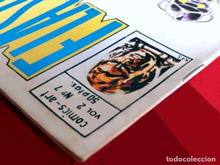 Cómics: FLASH GORDON, VOL. 2 - Nº 7, LOS VIAJEROS DEL TIEMPO-COMICS-ART / EDICIONES VÉRTICE, 1979. ORIGINAL - Foto 6 - 159695930