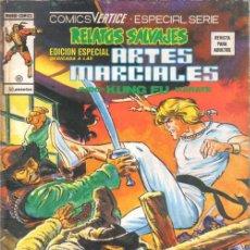 Cómics: RELATOS SALVAJES.Nº 41.¡CAPTURAR A UN ASESINO!.EDICION ESPECIAL ARTES MARCIALES.VERTICE.1979.. Lote 159710038