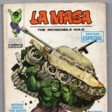 Cómics: LA MASA. Nº 1. VÉRTICE. LA INCREIBLE MASA. EDICIÓN ESPECIAL. Lote 159718098