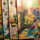 Cómics: LOTE 5 COMICS DE LA MASA,V3 DE MARVEL MUNDICOMICS Y RAMPANGING HULK DE VERTICE. Lote 149710282