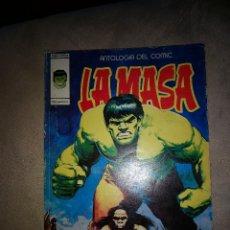 Cómics: LA MASA 16 ANTOLOGIA DEL COMIC VERTICE DIFICIL AÑOS 70. Lote 160036990