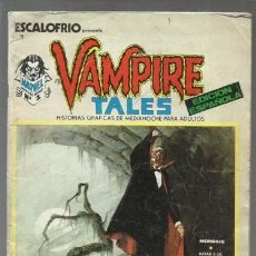 Cómics: ESCALOFRIO 1, 1973, VERTICE, LIGERAS SEÑALES DE USO. Lote 160084574