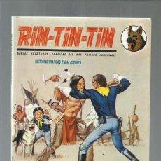 Cómics: RIN-TIN-TIN 10: EL SARGENTO INDIO, 1971, VERTICE, MUY BUEN ESTADO. Lote 160085398