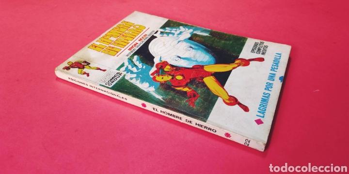 BUEN ESTADO EL HOMBRE DE HIERRO 22 VERTICE (Tebeos y Comics - Vértice - Hombre de Hierro)