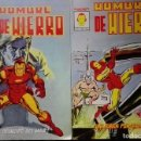 Cómics: HOMBRE DE HIERRO (IRON MAN) MUNDICOMICS VÉRTICE Nº 1 Y 2 1.981 MARVEL 1.978. Lote 160329886
