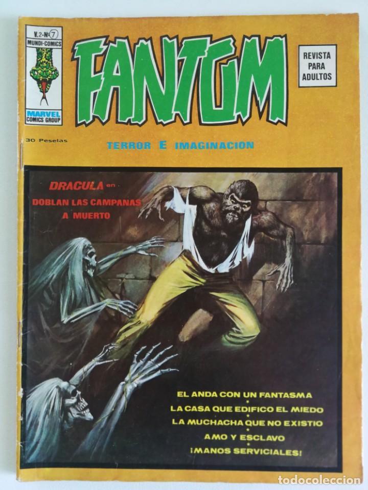 FANTOM VOL.2 Nº 7 VÉRTICE (Tebeos y Comics - Vértice - Terror)