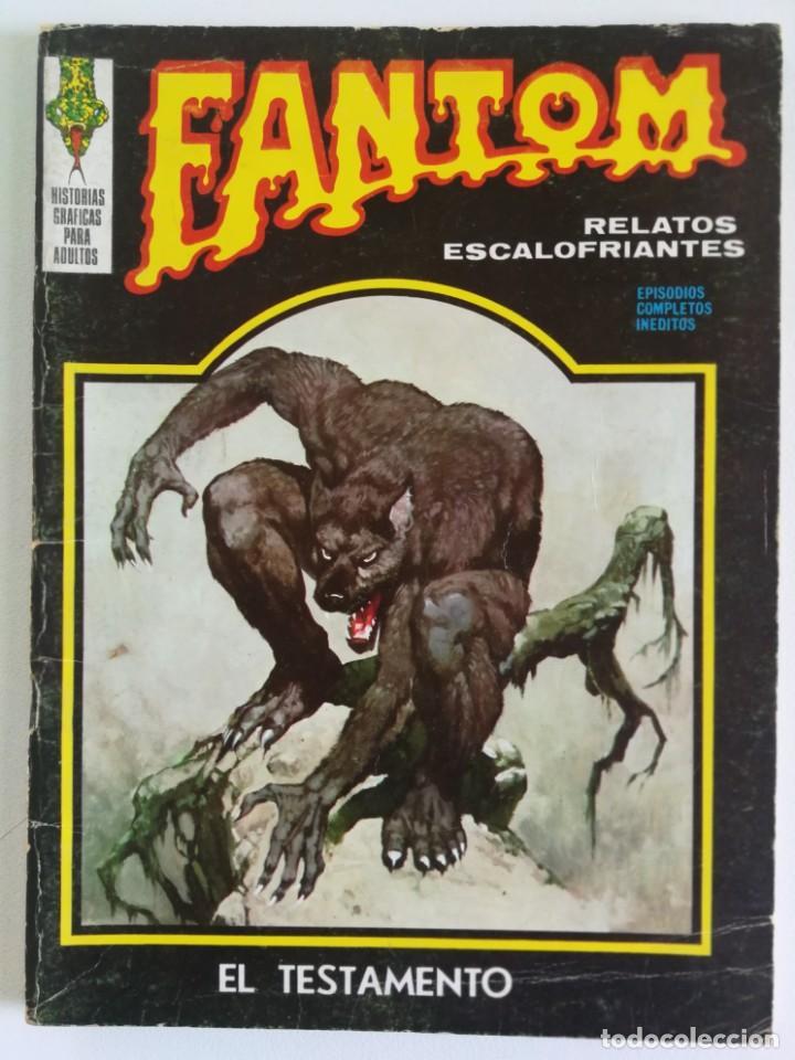 FANTOM VOL.1 Nº 28 VÉRTICE (Tebeos y Comics - Vértice - Terror)