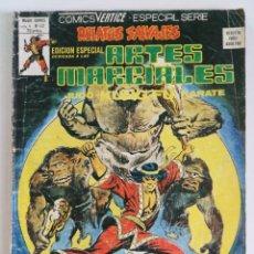 Cómics: RELATOS SALVAJES ARTES MARCIALES VOL.1 Nº 52 - VÉRTICE 1979. Lote 160512190