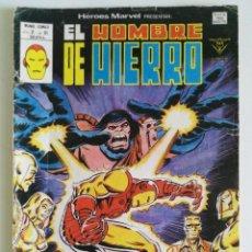 Cómics: EL HOMBRE DE HIERRO (HÉROES MARVEL V.2) Nº 61 - VÉRTICE 1980. Lote 160518702