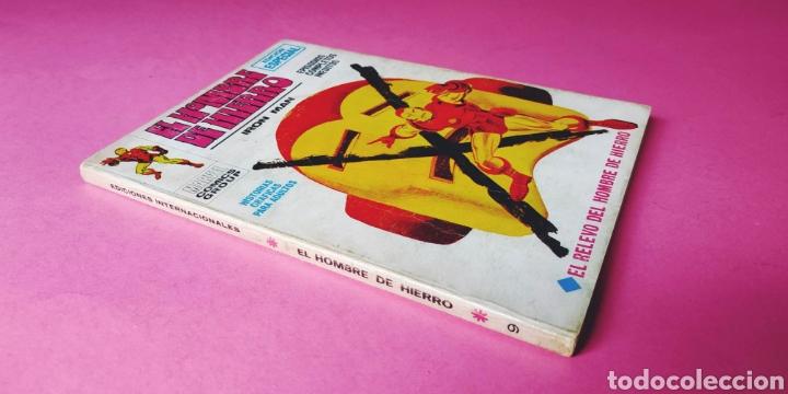 BUEN ESTADO EL HOMBRE DE HIERRO 9 VERTICE (Tebeos y Comics - Vértice - Hombre de Hierro)