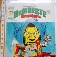 Cómics: SUPER HEROES VOLUMEN 2. EDITORIAL VÉRTICE NÚMEROS 65, 66, 67, 68, 69 Y 70 - DOCTOR MUERTE Y NAMOR.. Lote 160635686