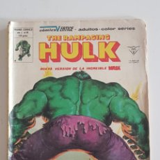 Cómics: MARVEL COMICS - THE RAMPAGING HULK Nº 14 VERTICE MUNDI COMICS 1980 LA MASA AVENGERS VENGADORES. Lote 160683470