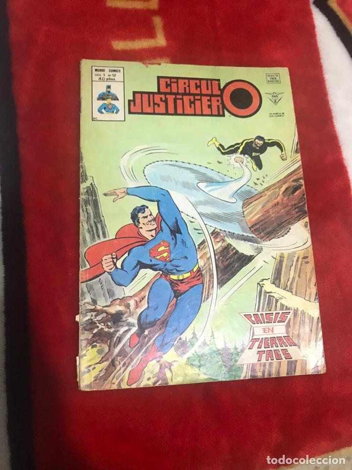 CÍRCULO JUSTICIERO VOLUMEN 1 NÚMERO 12 (Tebeos y Comics - Vértice - Otros)