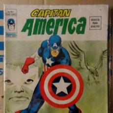 Cómics: CAPITÁN AMÉRICA VOLUMEN 2 VÉRTICE NÚMERO 1. 1974. 30 PTAS. EL IMPERIO SECRETO.. Lote 160782210