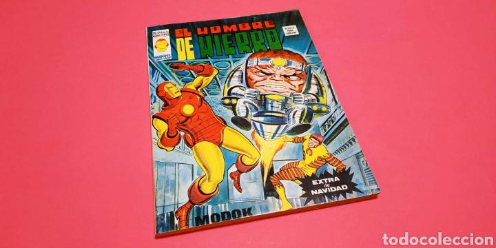 EXCELENTE ESTADO EL HOMBRE DE HIERRO EXTRA DE NAVIDAD VERTICE (Tebeos y Comics - Vértice - Hombre de Hierro)