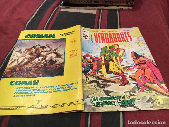LOS VENGADORES - Nº46 - VOL2 - MUNDI COMICS , 1978 VERTICE (Tebeos y Comics - Vértice - Vengadores)